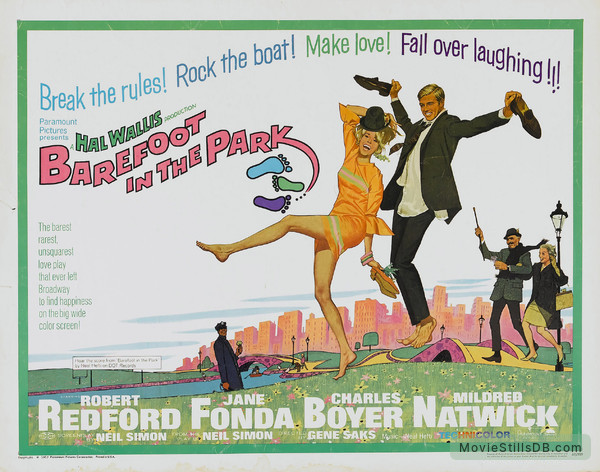Barefoot in the Park - Lobby card with Jane Fonda & Robert Redford