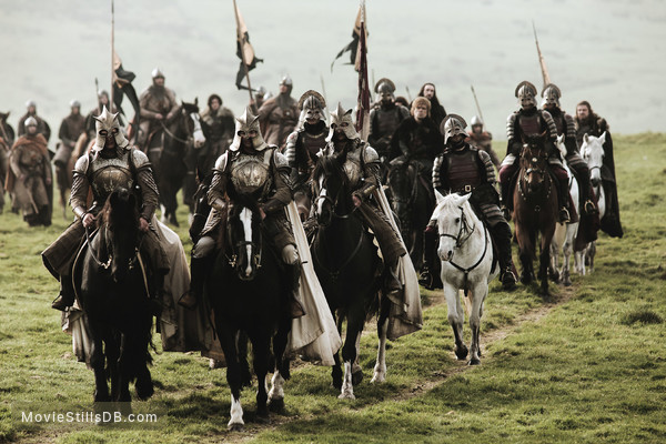Game of Thrones - Publicity still of Sean Bean, Peter Dinklage & Joseph Mawle