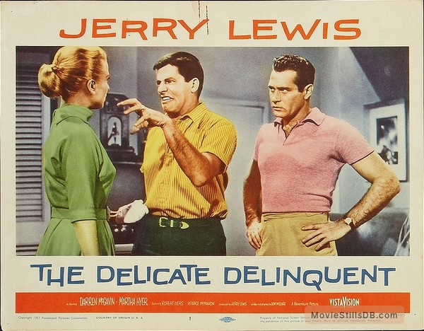 Image result for the delicate delinquent 1957