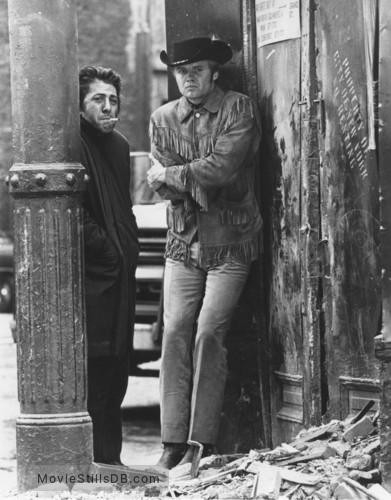 Midnight Cowboy - Publicity still of Jon Voight & Dustin Hoffman