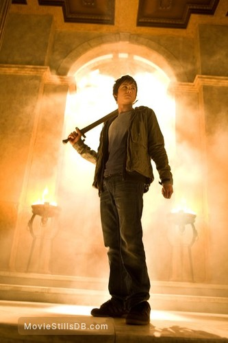 Percy Jackson & the Olympians: The Lightning Thief - Publicity still of Logan Lerman