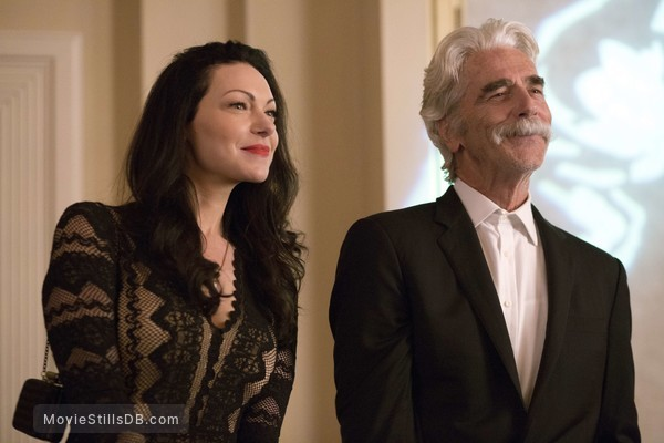 The Hero - Publicity still of Laura Prepon & Sam Elliott