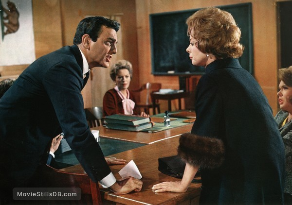 Where Love Has Gone - Publicity still of Susan Hayward & Mike Connors