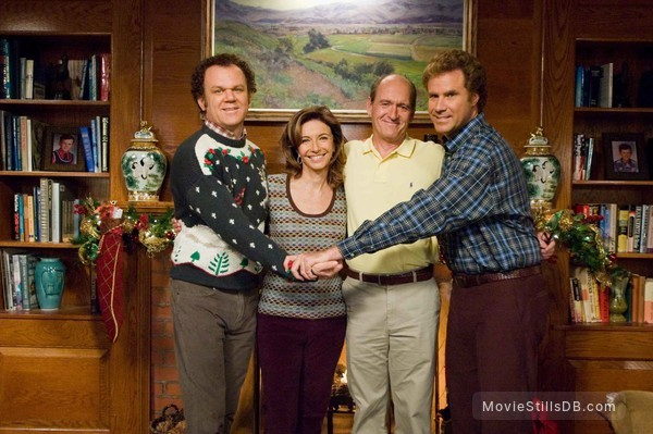 Step Brothers - Publicity still of Will Ferrell, John C. Reilly, Richard Jenkins & Mary Steenburgen