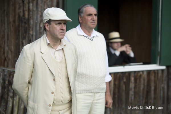 Downton Abbey - Publicity still of Jim Carter & Kevin Doyle