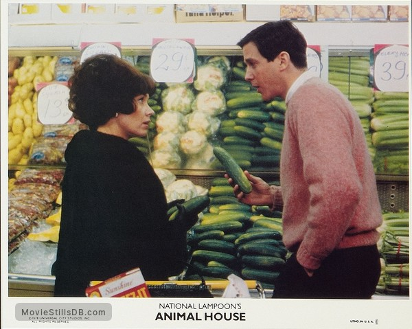 Animal House - Lobby card with Verna Bloom & Tim Matheson