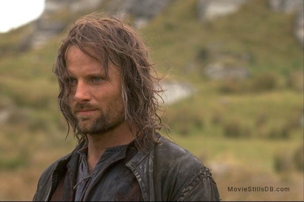 The Lord of the Rings: The Fellowship of the Ring - Publicity still of Viggo Mortensen