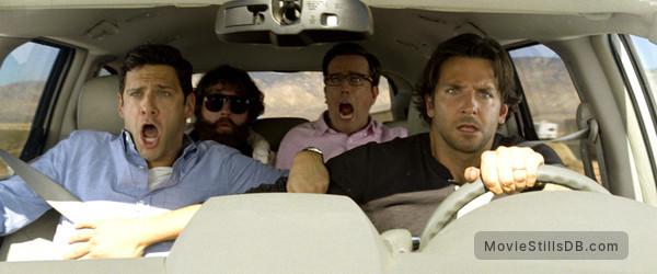 The Hangover Part III -  Bradley Cooper, Ed Helms, Zach Galifianakis & Justin Bartha