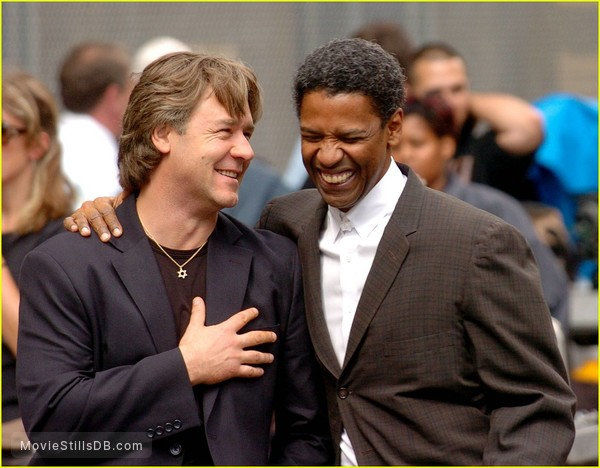 American Gangster - Publicity still of Russell Crowe & Denzel Washington