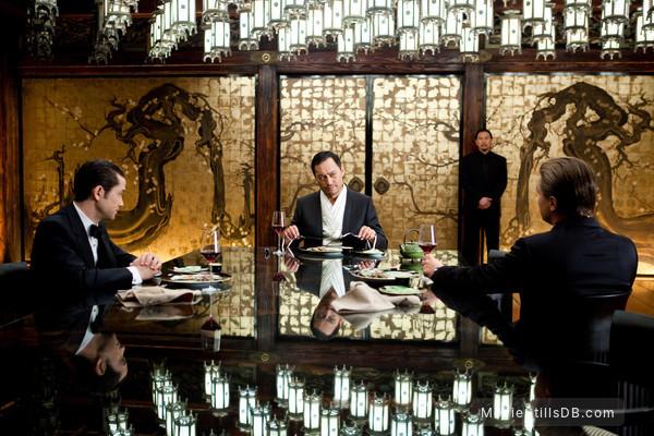 Inception - Publicity still of Leonardo DiCaprio, Ken Watanabe & Joseph Gordon-Levitt