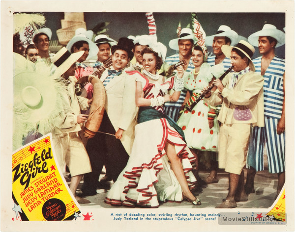 Ziegfeld Girl - Lobby card with Judy Garland