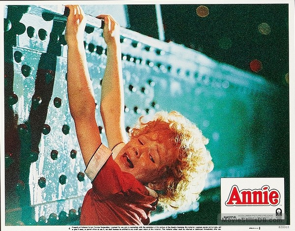 Annie - Lobby card with Aileen Quinn