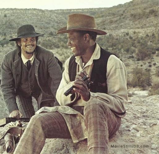 Buck and the Preacher - Publicity still of Sidney Poitier & Harry Belafonte