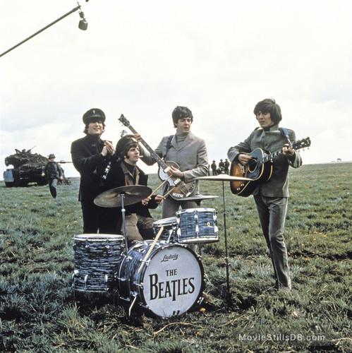 Help! - Publicity still of John Lennon, Ringo Starr, George Harrison & Paul McCartney
