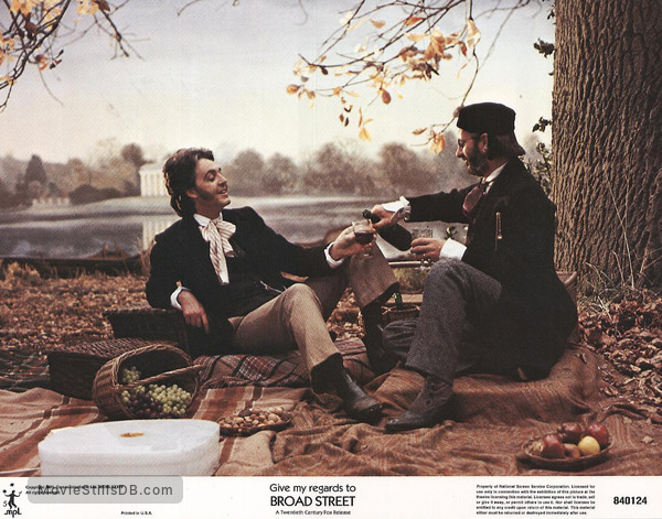 Give My Regards to Broad Street - Lobby card with Paul McCartney & Ringo Starr