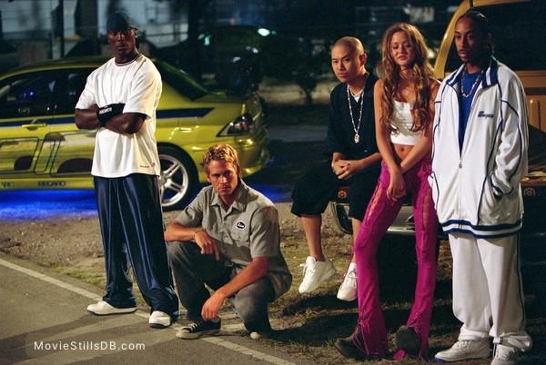 2 Fast 2 Furious - Publicity still of Paul Walker, Tyrese Gibson, Devon Aoki & Ludacris