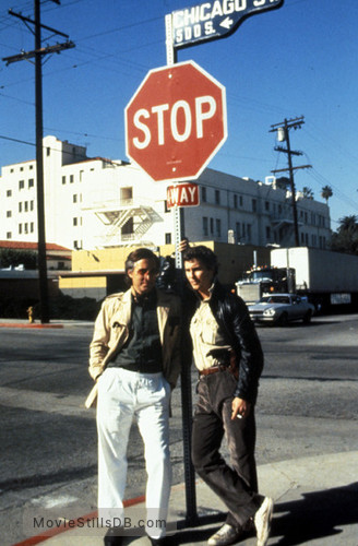To Live and Die in L.A. - Publicity still of John Pankow & William Petersen