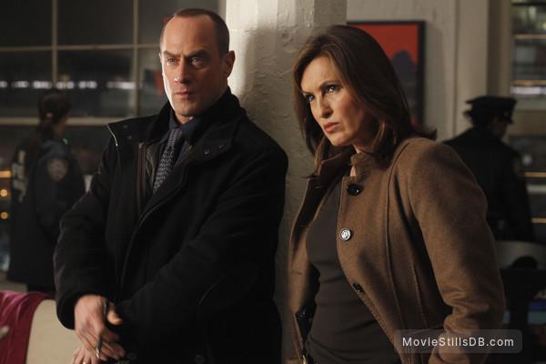Law & Order: Special Victims Unit - Publicity still of Mariska Hargitay & Christopher Meloni