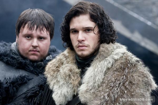 Game of Thrones - Publicity still of Kit Harington & John Bradley