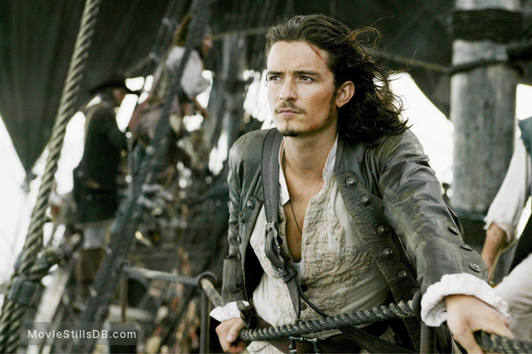 Pirates of the Caribbean: Dead Man's Chest - Publicity still of Orlando Bloom