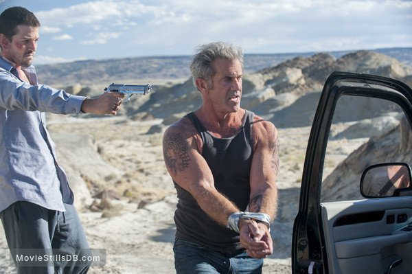 Blood Father - Publicity still of Mel Gibson & Diego Luna