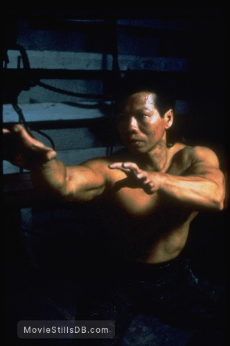 Double Impact - Publicity still of Bolo Yeung
