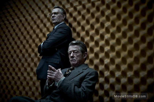 Tinker Tailor Soldier Spy - Publicity still of Gary Oldman & John Hurt