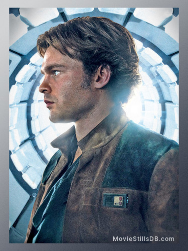 Solo: A Star Wars Story - Promotional art with Alden Ehrenreich