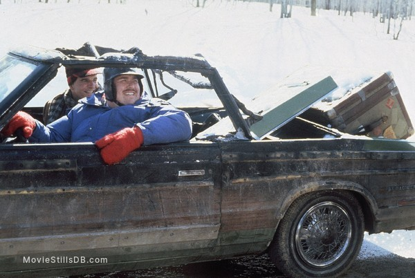 Planes, Trains & Automobiles - Publicity still of Steve Martin & John Candy