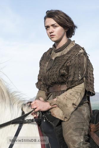 Game of Thrones - Publicity still of Maisie Williams