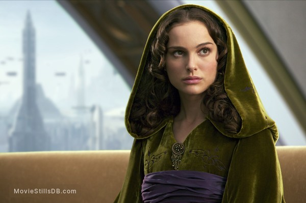 Star Wars: Episode III - Revenge of the Sith - Publicity still of Natalie Portman