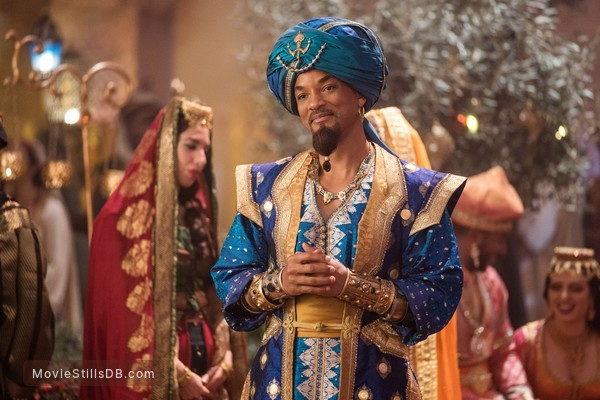 Aladdin - Publicity still of Will Smith