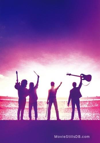 Bohemian Rhapsody - Promotional art with Rami Malek, Gwilym Lee, Ben Hardy & Joseph Mazzello