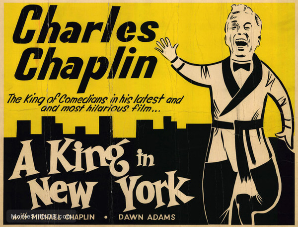 A King in New York - Lobby card