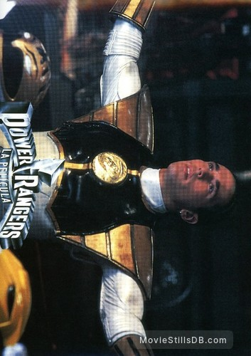 Mighty Morphin Power Rangers: The Movie - Lobby card with Jason David Frank