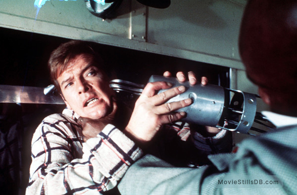 Live And Let Die - Publicity still of Roger Moore & Julius Harris