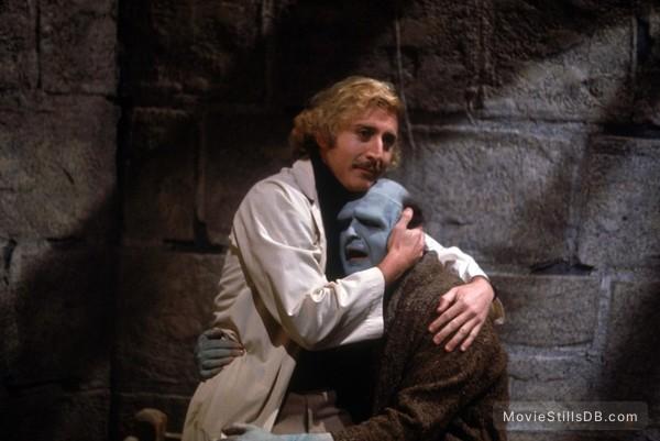 Young Frankenstein - Publicity still of Gene Wilder & Peter Boyle
