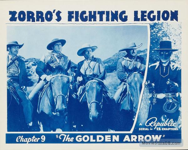 Zorro's Fighting Legion - Lobby card