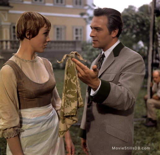 The Sound of Music - Publicity still of Christopher Plummer & Julie Andrews