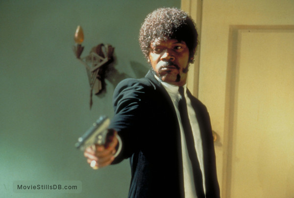 Pulp Fiction - Publicity still of Samuel L. Jackson