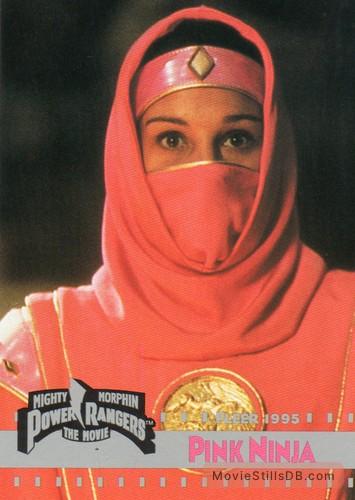 Mighty Morphin Power Rangers: The Movie - Lobby card with Amy Jo Johnson