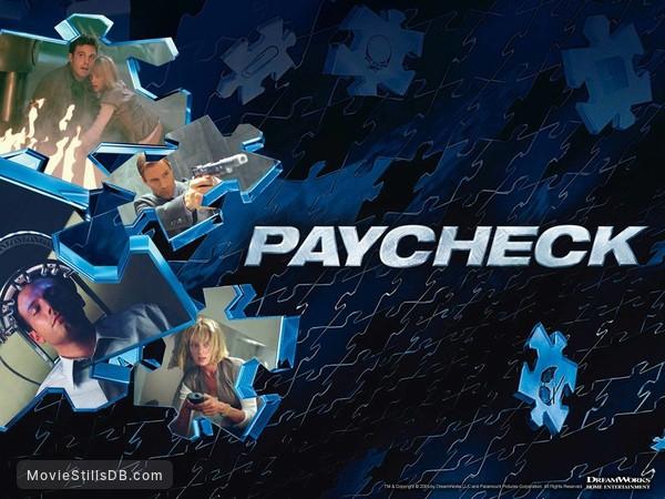 Paycheck - Wallpaper