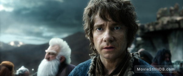 The Hobbit: The Battle of the Five Armies - Publicity still of Martin Freeman
