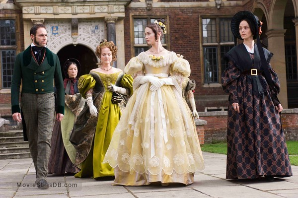 The Young Victoria - Publicity still of Emily Blunt, Mark Strong, Miranda Richardson & Jeanette Hain