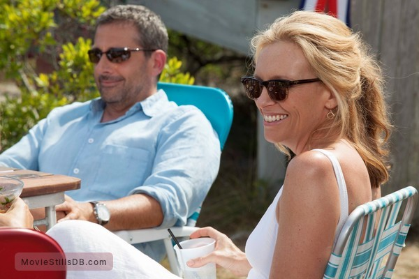 The Way Way Back - Publicity still of Steve Carell & Toni Collette