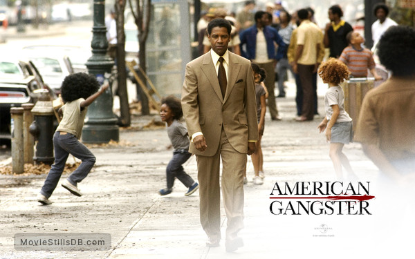 American Gangster - Wallpaper with Denzel Washington