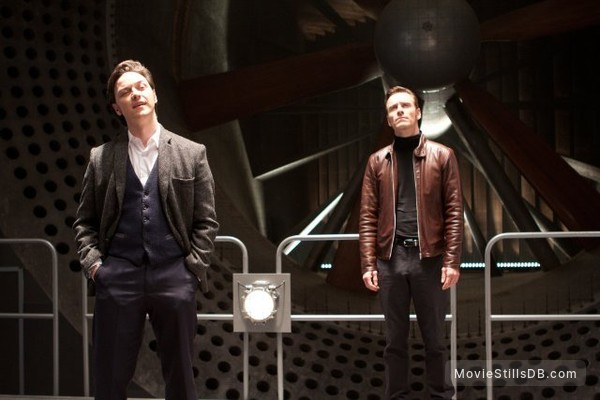 X-Men: First Class - Publicity still of James McAvoy & Michael