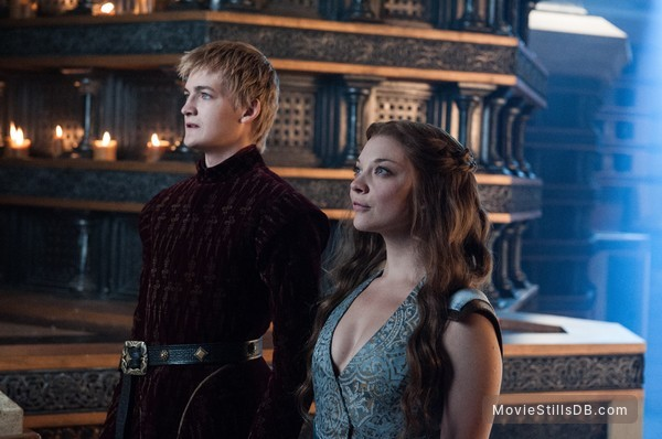 Game of Thrones - Publicity still of Natalie Dormer & Jack Gleeson