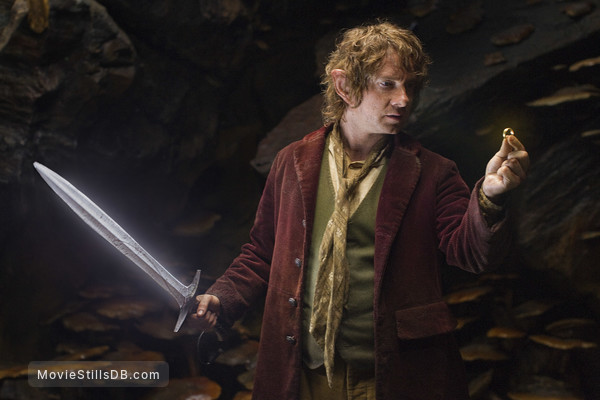The Hobbit: An Unexpected Journey - Publicity still of Martin Freeman