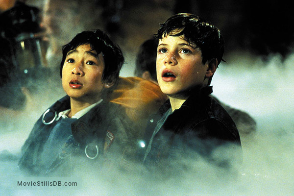 The Goonies - Publicity still of Jonathan Ke Quan & Sean Astin